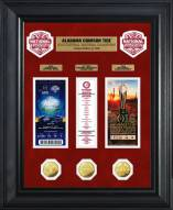 Alabama Crimson Tide 2016 National Champs Gold Coin & Ticket Collection