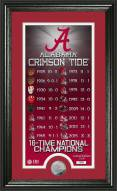 Alabama Crimson Tide 2016 National Champs Legacy Photo Mint