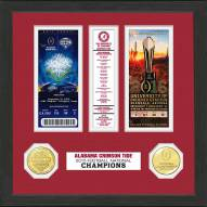 Alabama Crimson Tide 2016 National Champs Ticket Collection