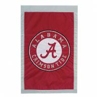 "Alabama Crimson Tide 28"" x 44"" Double Sided Applique Flag"