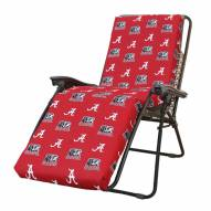 Alabama Crimson Tide 3 Piece Chaise Lounge Chair Cushion
