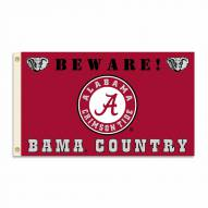 Alabama Crimson Tide 3' x 5' Beware Flag