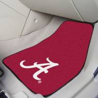 "Alabama Crimson Tide ""A"" 2-Piece Carpet Car Mats"
