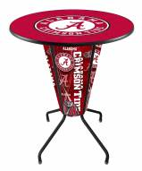 Alabama Crimson Tide Indoor/Outdoor Lighted Pub Table