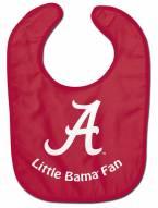 Alabama Crimson Tide All Pro Little Fan Baby Bib