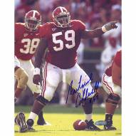 "Alabama Crimson Tide Antoine Caldwell Pointing At The Line Signed 16"" x 20"" Photo"