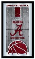 Alabama Crimson Tide Basketball Mirror