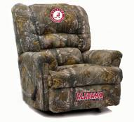 Alabama Crimson Tide Big Daddy Camo Recliner