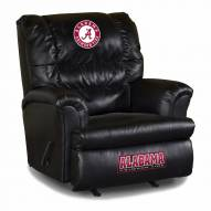 Alabama Crimson Tide Big Daddy Leather Recliner
