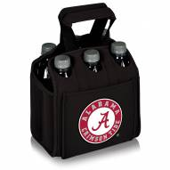 Alabama Crimson Tide Black Six Pack Cooler Tote