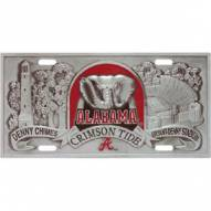 Alabama Crimson Tide Collector's License Plate
