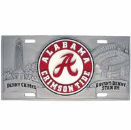 "Alabama Crimson Tide ""A"" Collector's License Plate"