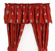 Alabama Crimson Tide Curtains