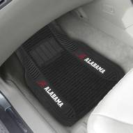 Alabama Crimson Tide Deluxe Car Floor Mat Set