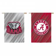 Alabama Crimson Tide Double Sided House Flag