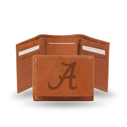 Alabama Crimson Tide Embossed Tri-Fold Wallet