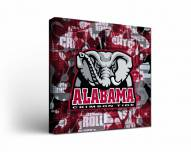 Alabama Crimson Tide Fight Song Canvas Wall Art
