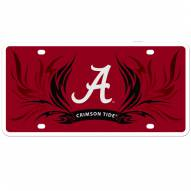 Alabama Crimson Tide Flame License Plate