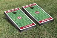 Alabama Crimson Tide Football Field Cornhole Game Set
