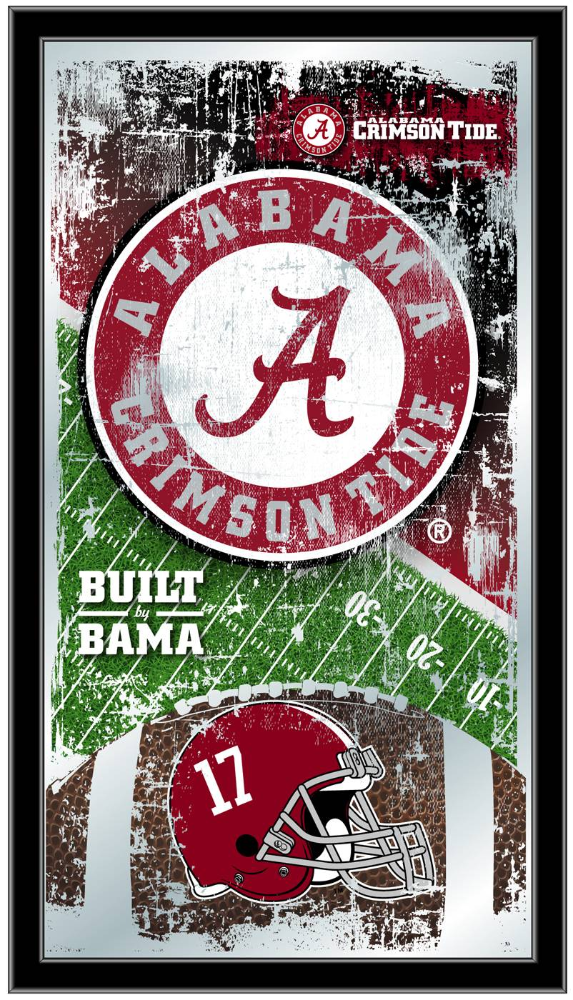Alabama Crimson Tide Football Mirror