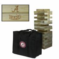Alabama Crimson Tide Giant Wooden Tumble Tower Game