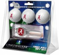Alabama Crimson Tide Golf Ball Gift Pack with Kool Tool