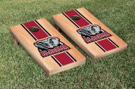 Alabama Crimson Tide Hardcourt Stripe II Cornhole Game Set