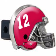 Alabama Crimson Tide Metal Helmet Trailer Hitch Cover