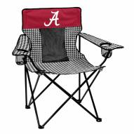 Alabama Crimson Tide Houndstooth Elite Tailgating Chair