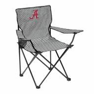 Alabama Crimson Tide Houndstooth Quad Folding Chair
