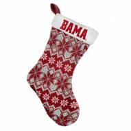 Alabama Crimson Tide Knit Christmas Stocking