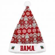 Alabama Crimson Tide Knit Santa Hat