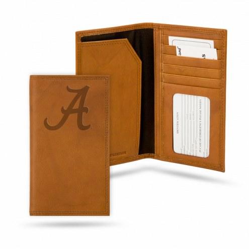 Alabama Crimson Tide Leather Roper Wallet