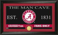 Alabama Crimson Tide Man Cave Bronze Coin Panoramic Photo Mint