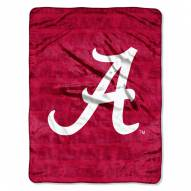 Alabama Crimson Tide Micro Grunge Blanket