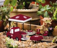 Alabama Crimson Tide Mini Tailgate Garden Set