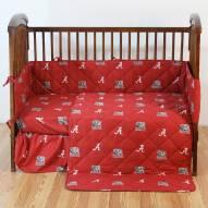 Alabama Crimson Tide NCAA Baby Crib Set