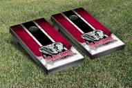 Alabama Crimson Tide NCAA Grunge Cornhole Game Set