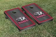 Alabama Crimson Tide Onyx Stained Border Cornhole Game Set
