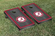 Alabama Crimson Tide Onyx Stained Border II Cornhole Game Set