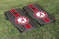 Alabama Crimson Tide Onyx Stained II Cornhole Game Set