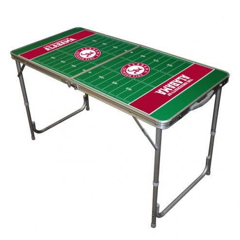 Alabama Crimson Tide Outdoor Folding Table