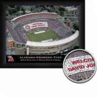 Alabama Crimson Tide Personalized Framed Stadium Print