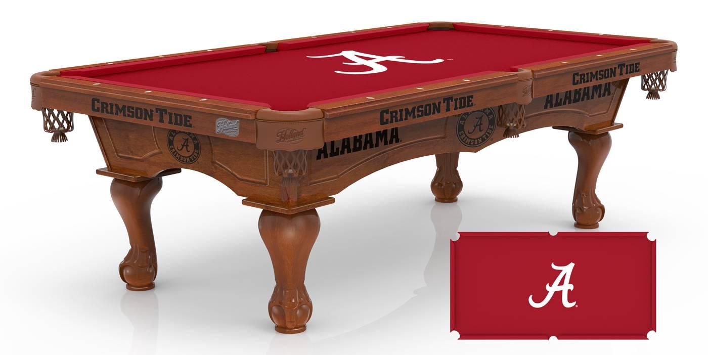 Alabama Crimson Tide Pool Table