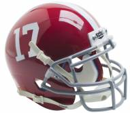 Alabama Crimson Tide Schutt Mini Football Helmet