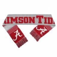 Alabama Crimson Tide Split Logo Reverse Scarf