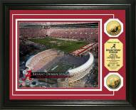 Alabama Crimson Tide Stadium 24KT Gold Coin Photomint