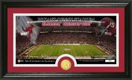 Alabama Crimson Tide Stadium Bronze Coin Panoramic Photo Mint