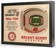 Alabama Crimson Tide Stadium View Wall Art