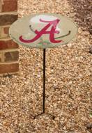 Alabama Crimson Tide Staked Bird Bath